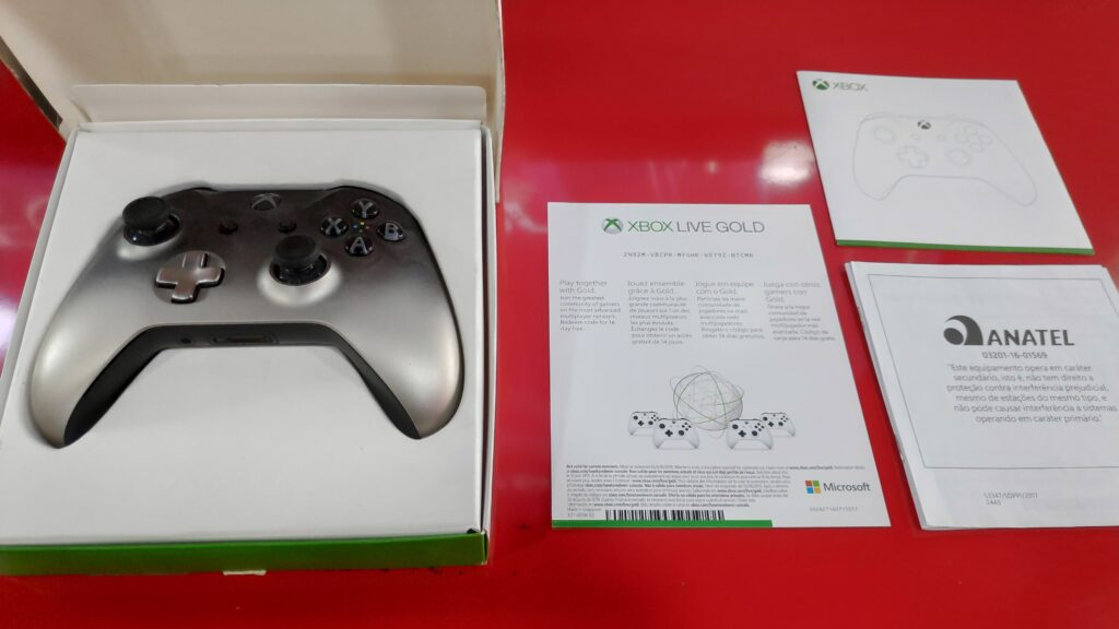 xbox gamepad for pc box contents