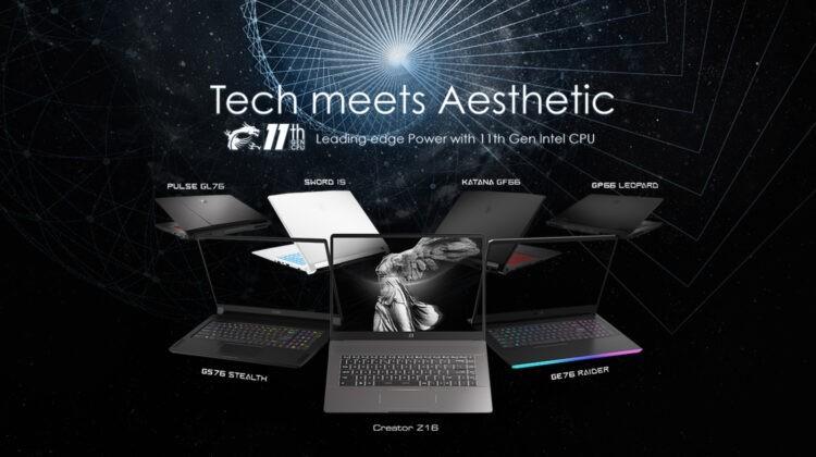 msi new laptop