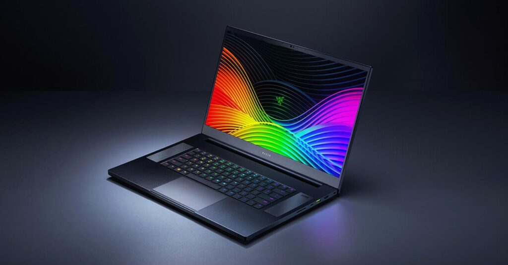 razer blade 17 laptops with backlit keyboards