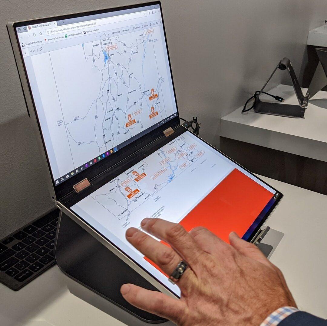 dual screen laptops dell concept duet