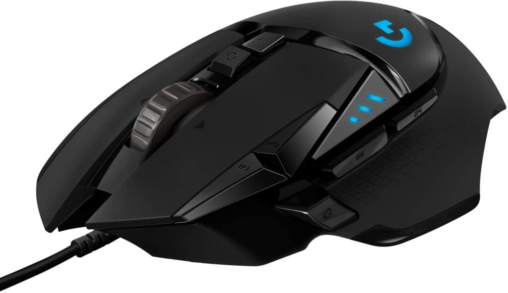 Gaming Laptop Accessories Logitech G502 Hero Mouse