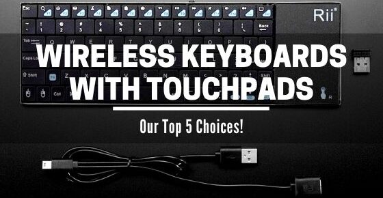 wireless keyboards with touchpad