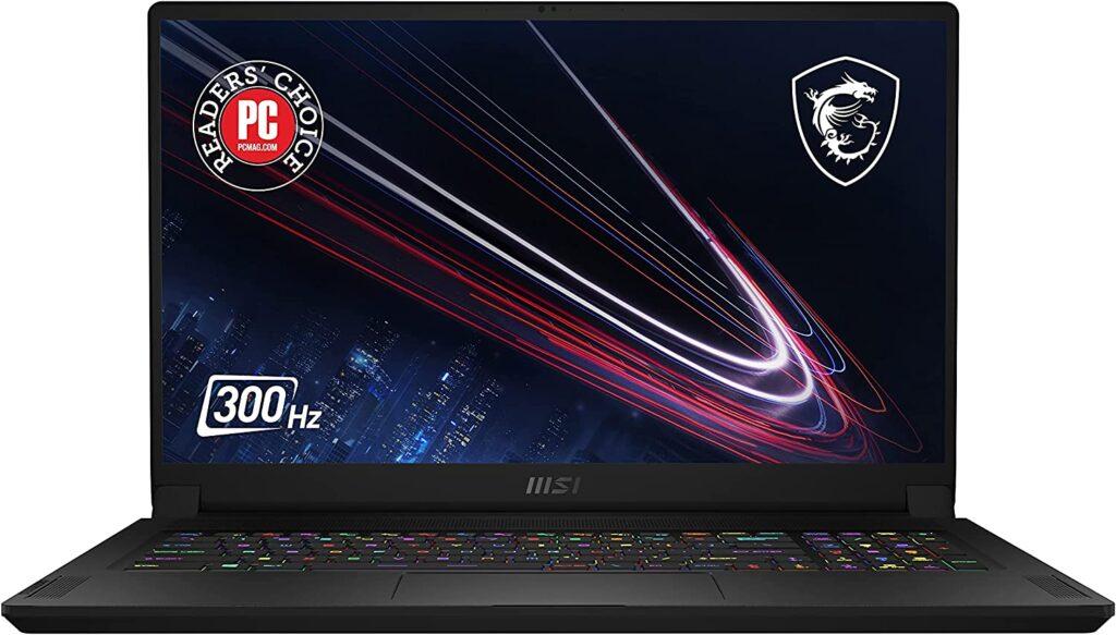 msi 300hz laptop